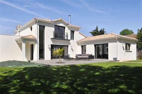 Prix Construction Maison Plain Pied by Maison Moderne Avec Toit Ardoise Avie Home