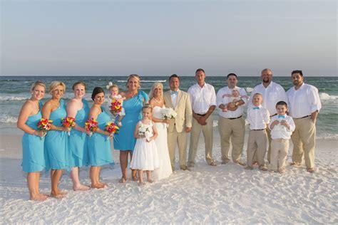 Sunset Beach Weddings In Destin Florida