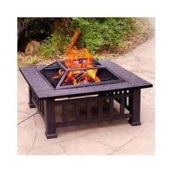 32 quot pit with cover wood burning outdoor grill