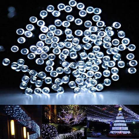 solar powered twinkle lights solar powered decorative twinkle white light led light
