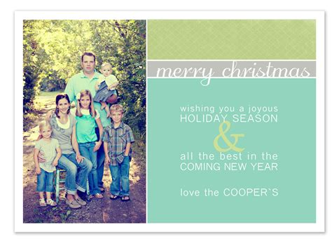Free Christmas Card Templates E Commercewordpress Photo Card Templates