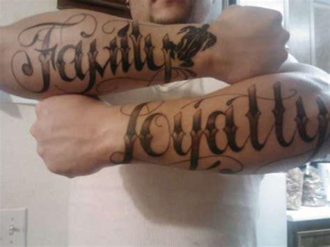 tattoo family loyalty family loyalty tattoo www pixshark com images