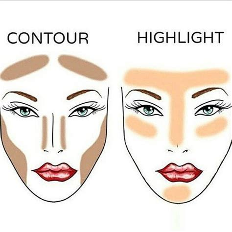 natural makeup contouring tutorial contouring and highlighting a step by step makeup