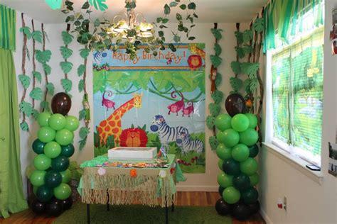 diy jungle theme decorations safari theme backdrop setter from city and diy
