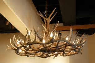 Deer Antler Chandelier The Peak Antler Company August 2011