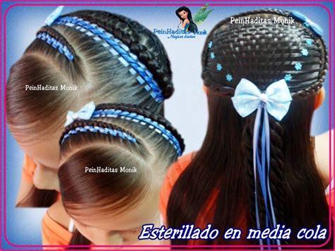 peinados de niñas   Buscar con Google   peinados de niñas   Pinterest   Search