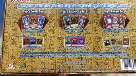 legendary decks 2 yugioh yugi s legendary decks exodia dioses egipcios