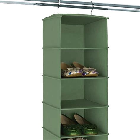 Hanging Shoe Bags For Closets by Verde 10 Compartment Hanging Shoe Bag The Container Store