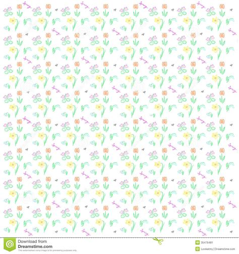 pattern background spring spring background stock illustration image of repeating
