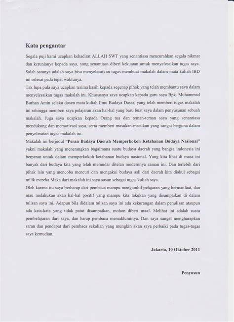 contoh membuat kata pengantar yang baik dan benar contoh kata pengantar jurnal gontoh