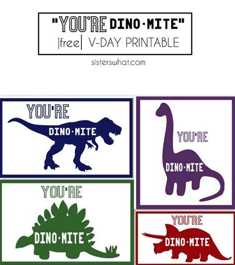 printable dinosaur postcards dinosaur valentines day card free printable silhouettes