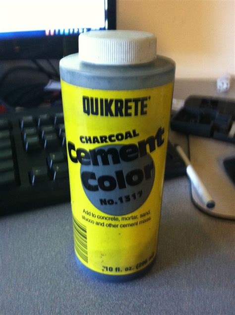 quikrete liquid cement color charcoal liquid cement color by quikrete 1317 00 ebay