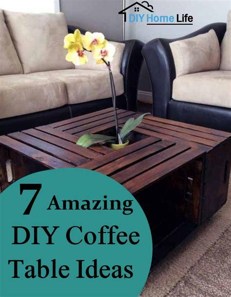 diy coffee table ideas 7 amazing diy coffee table ideas diy home