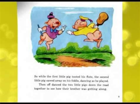 pictures story books the three pigs disney story book