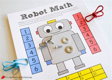 printable games for kids robot memory game free robot themed math free printable activity