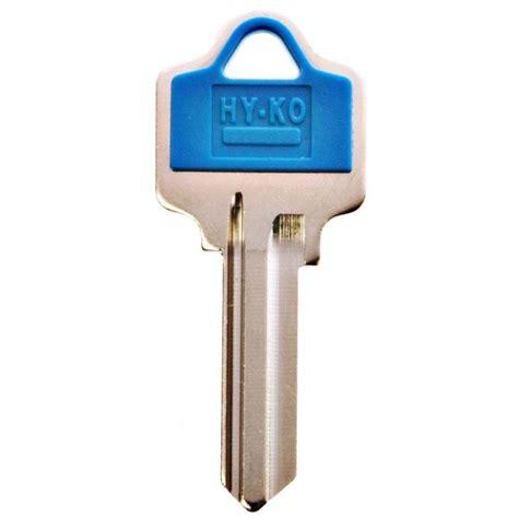 hy ko blank e z set national cabinet lock key 11010nh1