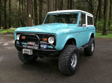 1966 1977 ford broncos for sale 1969 ford bronco restomod fuel injected 1966 1967 1968