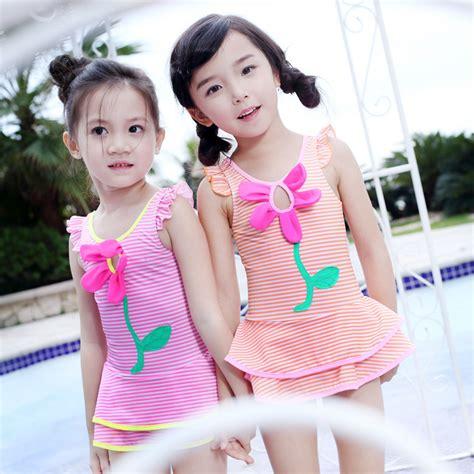 little girl 2016 bathing suits 2016 summer baby girl swimwear infant flower girls