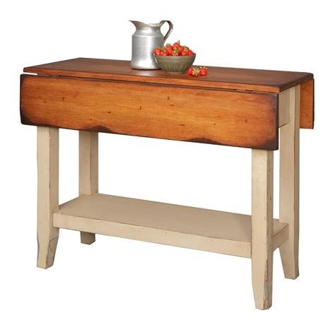 Kitchen Islands Ebay primitive kitchen island table small drop side farmhouse