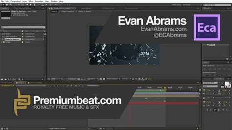 tutorial after effect youtube after effects shatter glass tutorial youtube