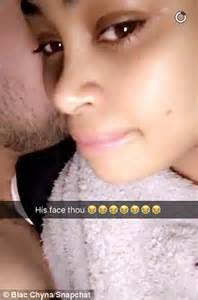 Blac Chyna Posts Snapchat Video With Semi Naked Rob