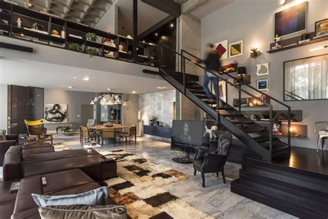 modern loft perfect merger between art and design contemporary