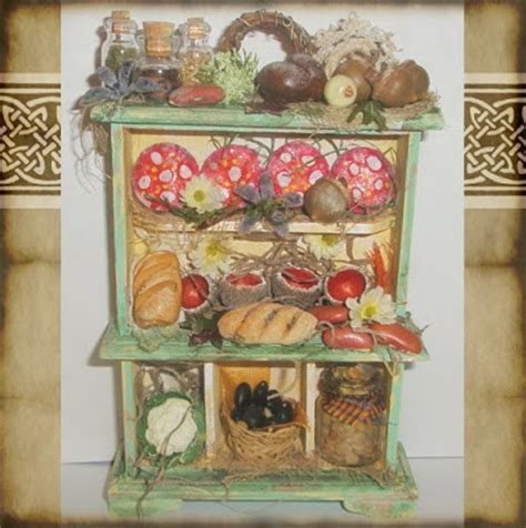 Mouse In Kitchen Pantry What S Bubbling At Cauldron Craft Miniatures Converting