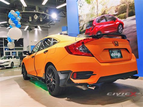Modified Civic Sedan by Modified 2016 Civic Sedan By Berlin City Honda 2016