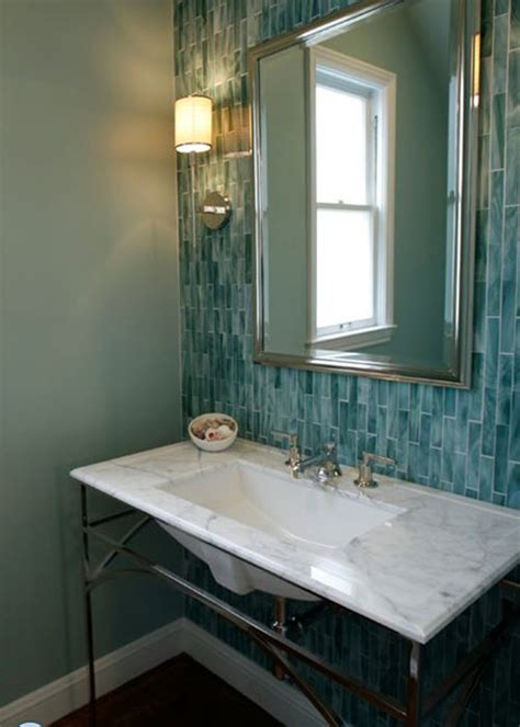 Blue And Green Bathroom Ideas by 39 Blue Green Bathroom Tile Ideas And Pictures