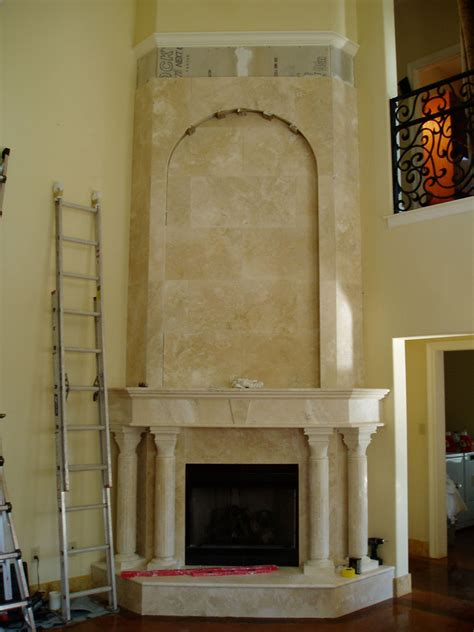 free installing granite fireplace backuperarrow