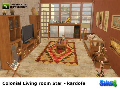 Colonial Living Room Furniture Kardofe Colonial Living Room
