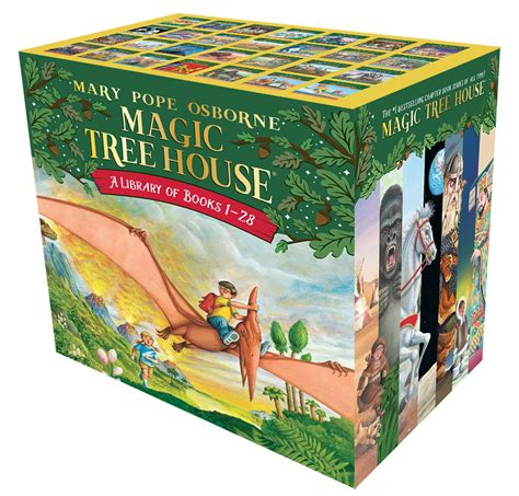 buy magic tree house books the magic tree house library books 1 28 by mary pope osborne paperback