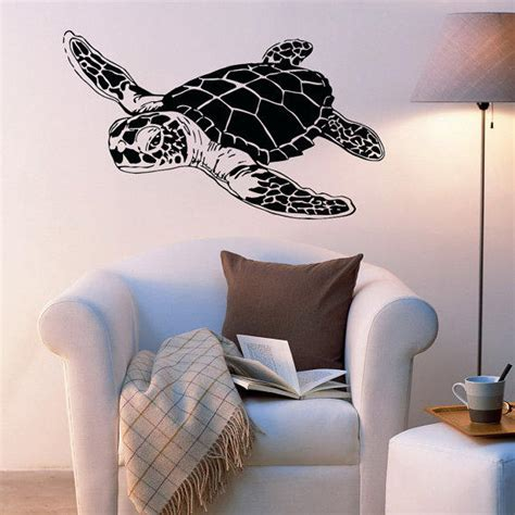Sea Turtle Bedroom Decor by Sea Turtle Wall Decals Turtle Wall Decal From