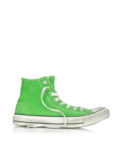 Converse Limited Edition Trainers For Product by Lyst Converse All High Top Jungle Green Smoke