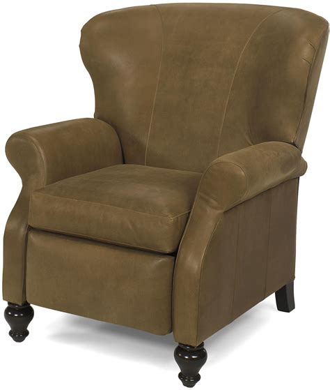 new leather recliner chair antique style wood carved