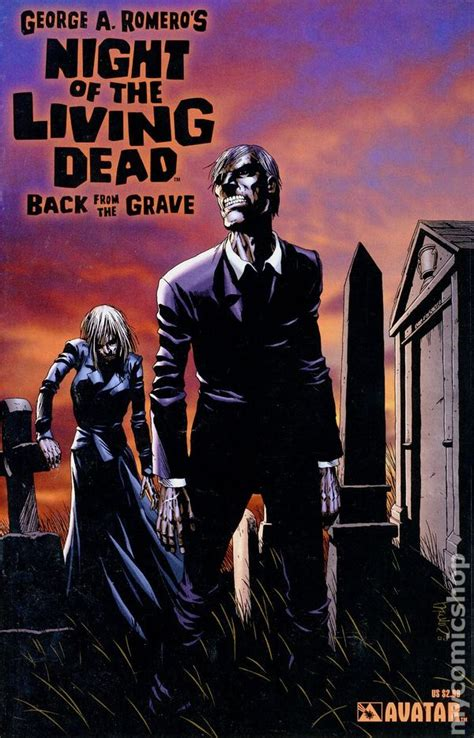 grave of the dead books of the living dead back from the grave 2006 comic