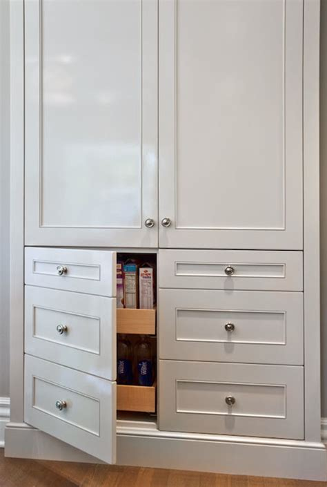 built in kitchen pantry cabinet pull out pantry cabinets transitional kitchen lauren