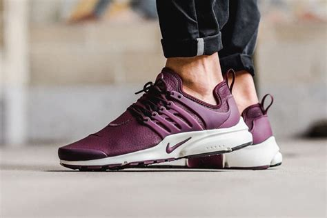 Nike Air Presto Low Untility Marun Premium Quality nike presto gray and maroon sports business news
