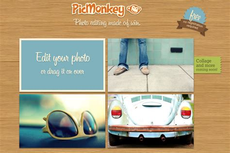 picmonkey mobile review of pic monkey photo edit tool
