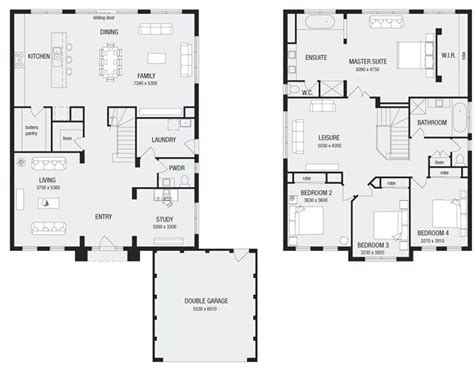 floor plans melbourne newhaven 36 new home floor plans interactive house plans