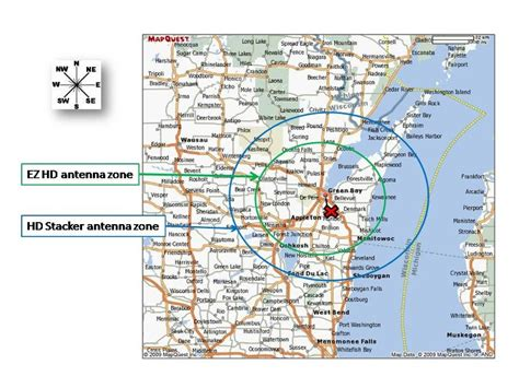 hd antenna map best tv antenna for green bay wi tv stations