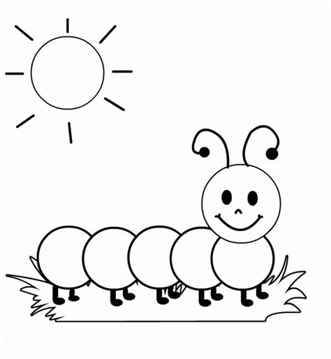 caterpillar coloring pages preschool im 225 genes para colorear infantiles im 225 genes infantiles