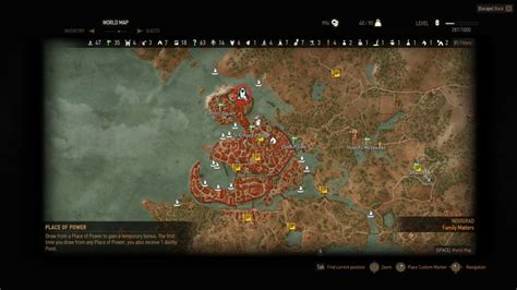 barber locations witcher 3 witcher 3 barber locations novigrad map of important