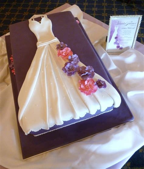 Bridal Cakes Pictures by Sophisticakes Bridal Shower Wedding Dress Cake