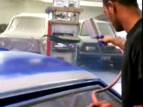 Wasserlack Lackieren Auto by Auto Lackieren Youtube