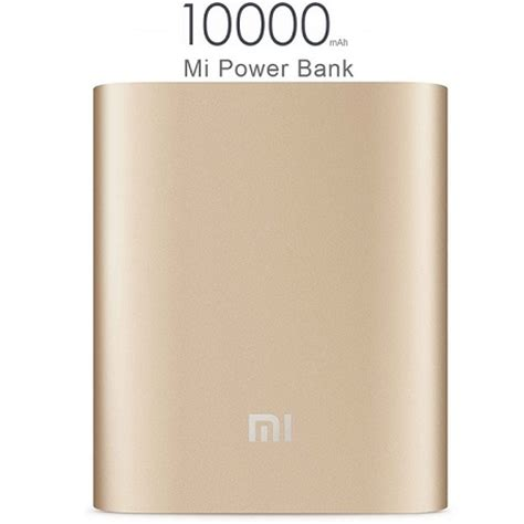 Xiaomi Power Bank 10000mah Mi Power Bank 100 Original xiaomi mi power bank 10000mah gold reviews price buy at nis store