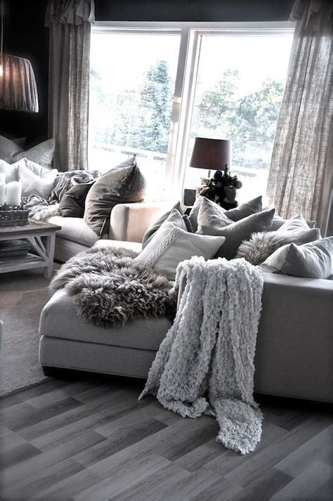 love the cozy look and feel home pinterest