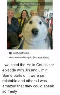 Hello Strikes Again by 25 Best Memes About Jimin Jimin Memes