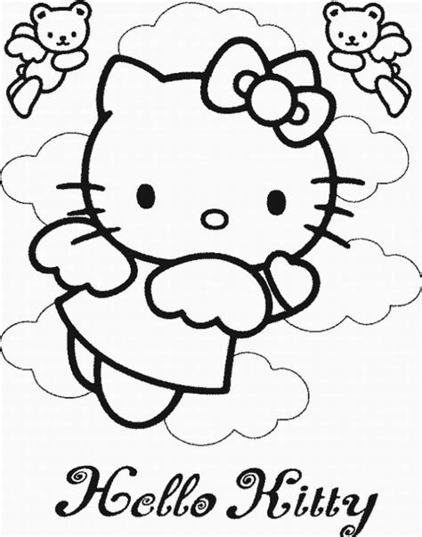 coloring pages online hello kitty coloring pages