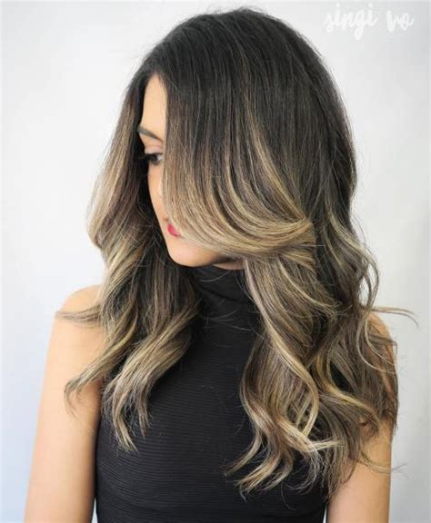 dirty blonde hair with black highlights 40 ash blonde hair looks you ll swoon over